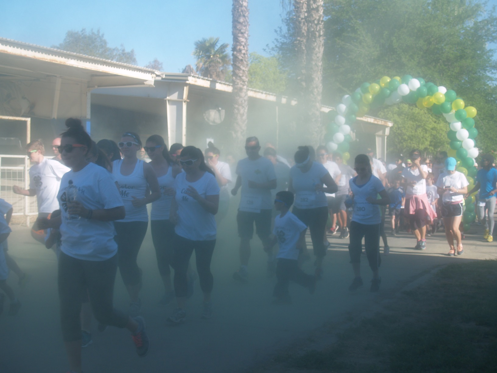Color Run beginning of race