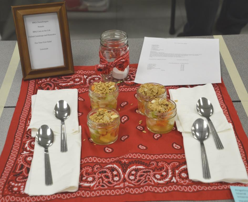 Healthy Living-Fun Time Fruit Salad-Intermediate Division