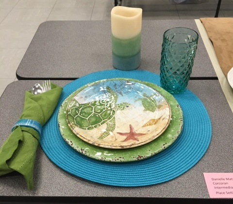 Turtle Place Setting-Intermediate Division