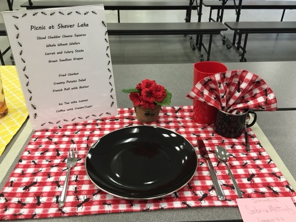 Place Setting-Intermediate Division