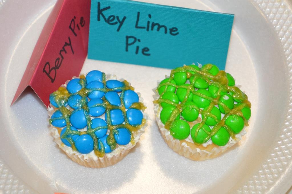 Key Lime & Berry Pie