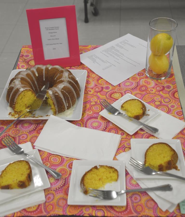 7 Up Lemon Bundt Cake-Intermediate Division