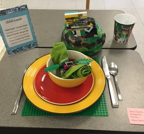 Lego Lunch-Primary Division