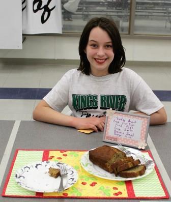 Favorite Food-Junior Division Bronze Medal
