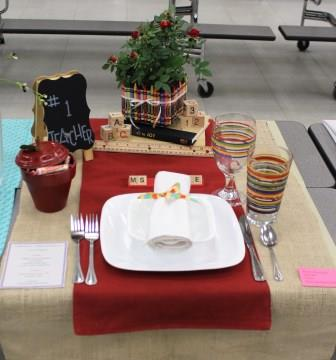 Place Setting- Junior Division Bronze Medal