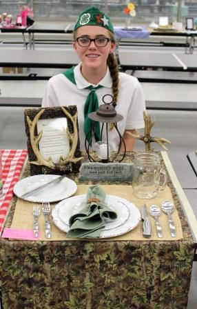 Place Setting-Intermediate Division Bronze Medal