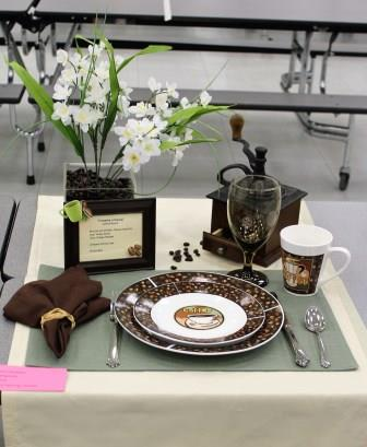 Place Setting-Senior Division Bronze Medal
