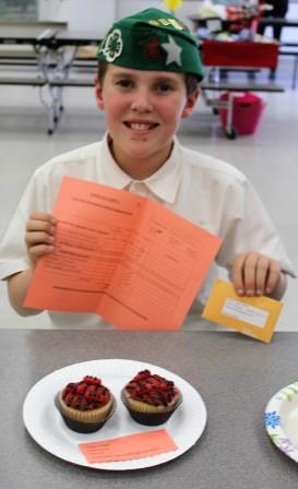 Cupcake Decorating-Junior Division Bronze Medal