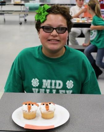 Cupcake Decorating-Intermediate Division Bronze Medal